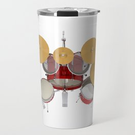 Red Drum Kit Travel Mug