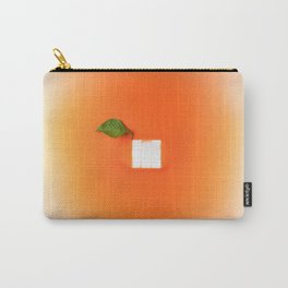Orange out of the box Carry-All Pouch