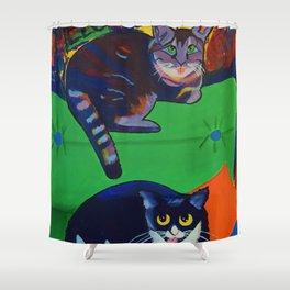 Kit Kats Shower Curtain