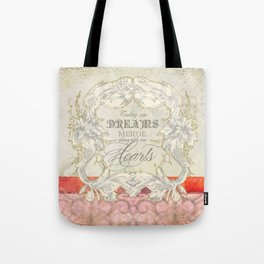 All our Dreams Can Come True Modern Art Butterfly  Tote Bag