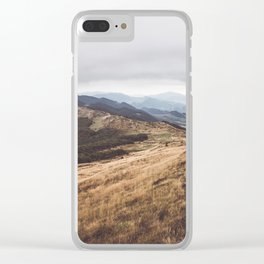 Over the hills and far away Clear iPhone Case
