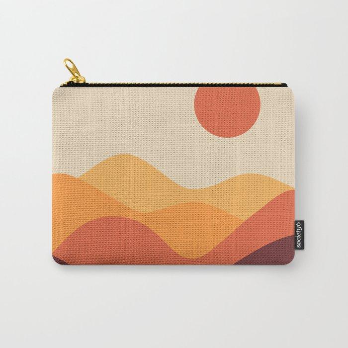 Geometric Landscape 21 Carry-All Pouch