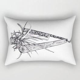 Bromeliad Barber Rectangular Pillow