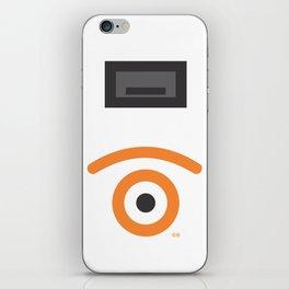 geometrical atraction glance iPhone Skin