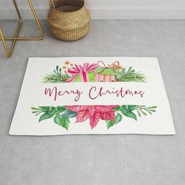 Merry Christmas Design Elements 1 Rug