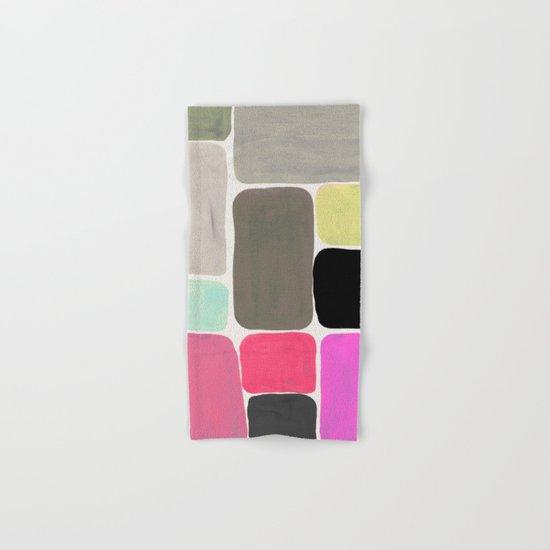 colour + pattern Hand & Bath Towel