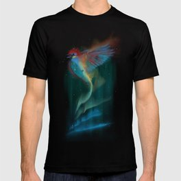 Aurora bird T-shirt