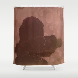 Jamaican Girl Shower Curtain
