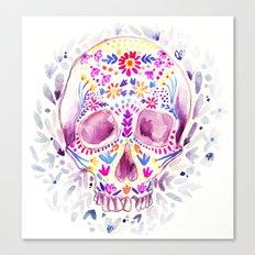 Skull Candy Canvas Print