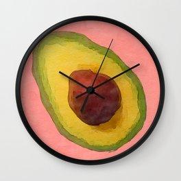 Avocado for Lola Wall Clock