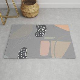 Modern Abstract Terrazzo  Rug