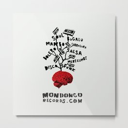 Mondongo Records Metal Print