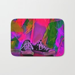 Dance Shoes Bath Mat