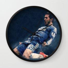 Chelsea's Eden Hazard Wall Clock
