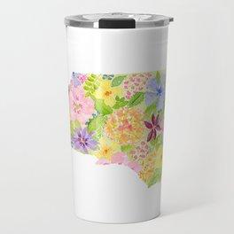 North Carolina - Painted States Series Travel Mug