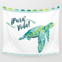 Costa Rica Turtle Wall Tapestry