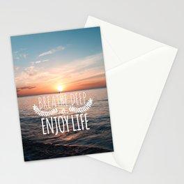 Hawaii sunset Stationery Cards
