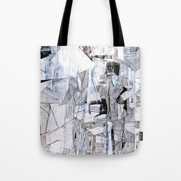 Distant Folding Tote Bag