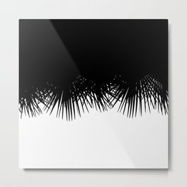 Fan Palm Metal Print