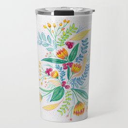 blooms Travel Mug