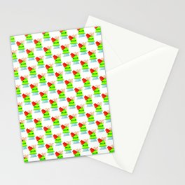 Pelon Pelo Rico Tamarind Mexican Candy Pinata Pattern Stationery Cards