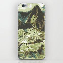 Machu Picchu Peru iPhone Skin