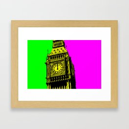 Big Ben - In all her coloured glory... Framed Art Print