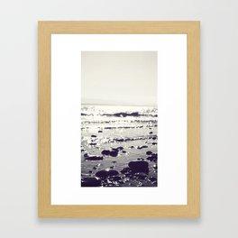 Beach Light Framed Art Print