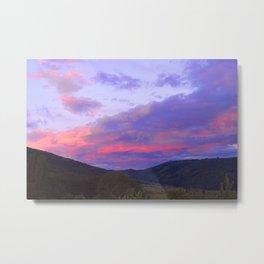 Skies on Fire Metal Print