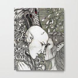 Dread Wolf's lover Metal Print