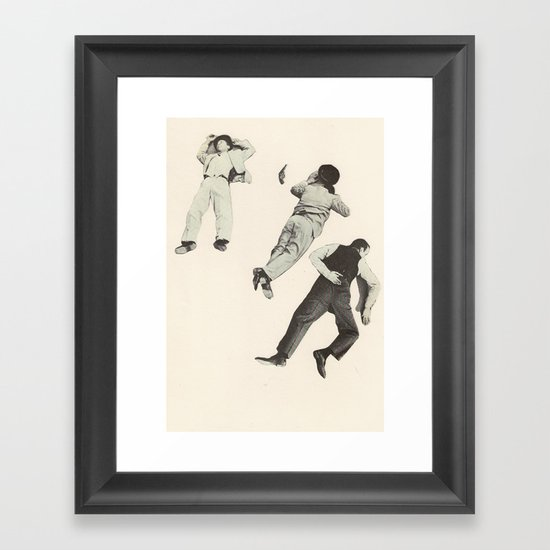Public Enemies Framed Art Print