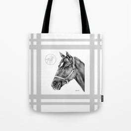 Affirmed (US) Thoroughbred Stallion Tote Bag