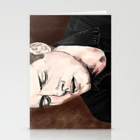 dean winchester Stationery Cards featuring Dean Winchester by Brandi