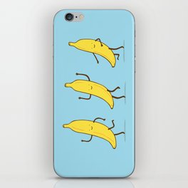 Banana shake iPhone Skin