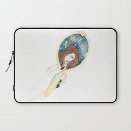 Disappearing Past Self Laptop Sleeve