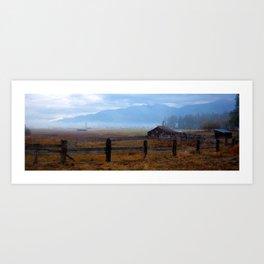 Montana Morning Art Print