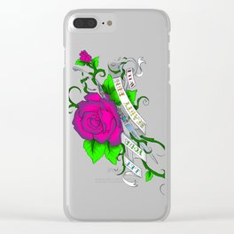 Let your beauty run wild Clear iPhone Case