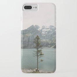 Lone Switzerland Tree - Landscape Photography iPhone Case