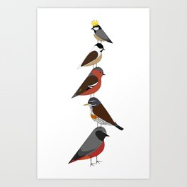 Bird Tower Art Print