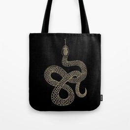 Vintage line snake Tote Bag