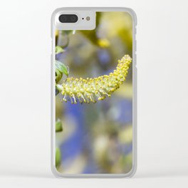 Photo Willow blossom Clear iPhone Case