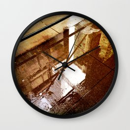 Relection Street Wall Clock