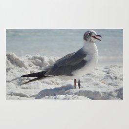 Laughing Gull Rug
