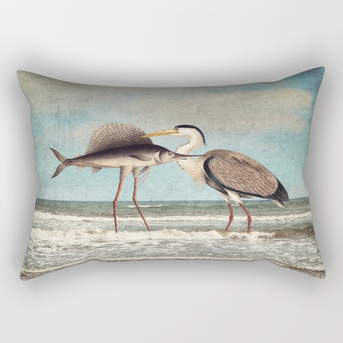 The Fish That Sold Its Soul for Love Rectangular Pillow