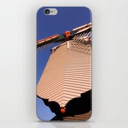 1745 Windmill sundown geometrics iPhone Skin