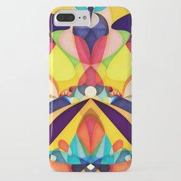 Poetry Geometry iPhone Case