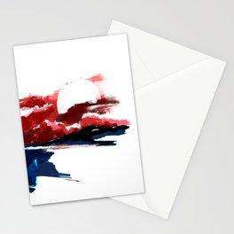 Atonement hour - dark sunset of purgatory Stationery Cards