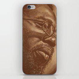 incredible curtis! iPhone Skin