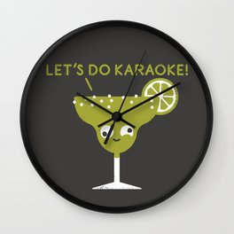 Marge in Charge Wall Clock