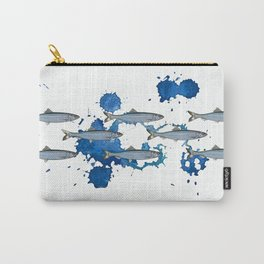 Shoul Of Herring Carry-All Pouch